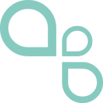 Ashby Wines Droplets Icon - Teal